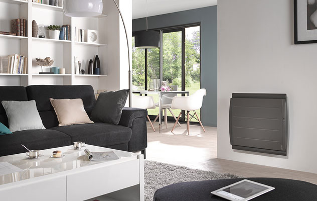 maradja gris pilotage intelligent radiateur connecte ambiance salon audouard jean michel. Black Bedroom Furniture Sets. Home Design Ideas